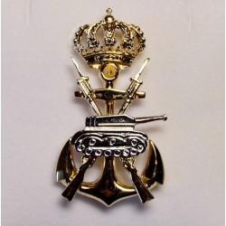 Pin Automovilismo Infantería de Marina chapado
