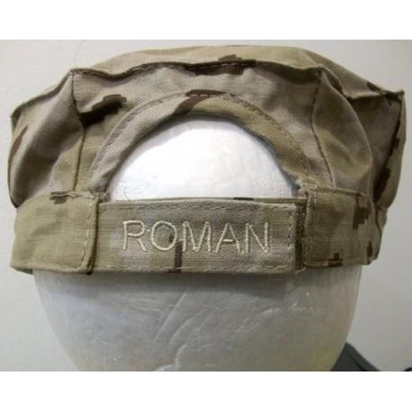Bordado personalizado con vinilo para gorra de tela
