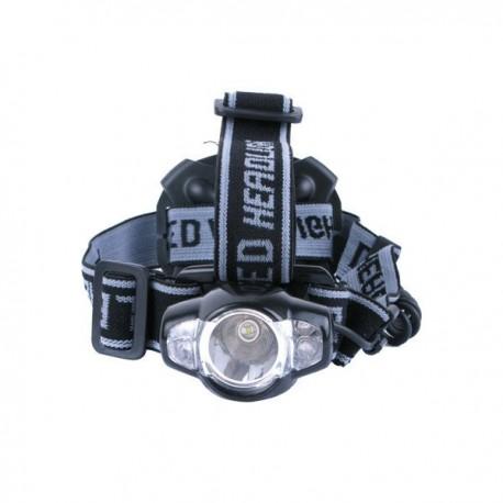 Frontal LED CREE Q3 con señal trasera, 3 pilas AA no incluidas, Blister