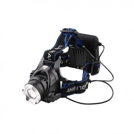 Frontal LED CREE ZOOM 5W, 500 Lumens. 5 posiciones, 4 pilas AA no incluidas