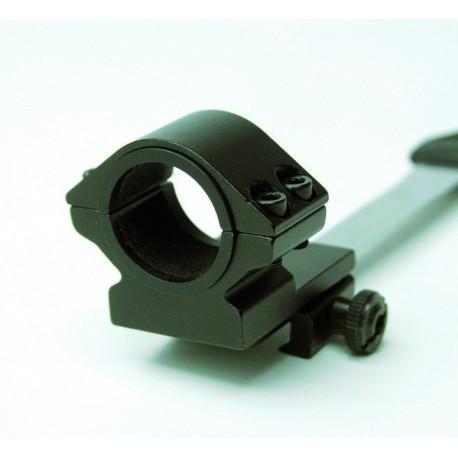 Pareja de anillas con doble diámetro,Weaver y Picatinny para miras de hasta 52mmØ