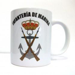 Taza escudo Infantería de Marina