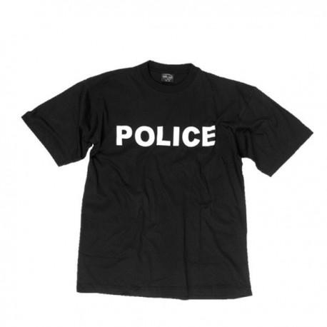 CAMISETA POLICE NEGRA