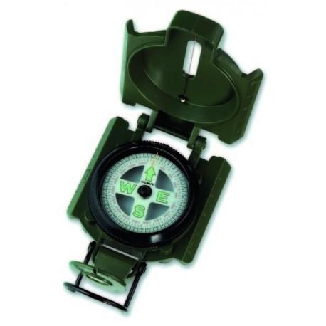 """Kit 6 Brújulas """"KONUSTREK-1"""" en metal, verde, con baño de aceite"""