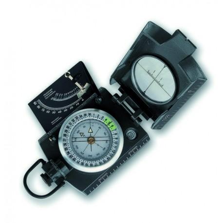 "Brújula ""KONUSTAR-10"" c/clinómetro, baño de aceite en metal"