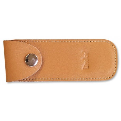 Pocket kn. pouch,brown leather