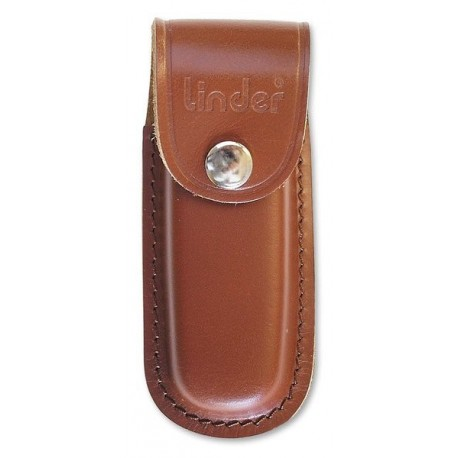 Pocket knife pouch brown CLIP