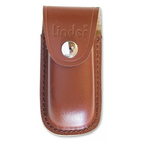 Pocket knife pouch brown