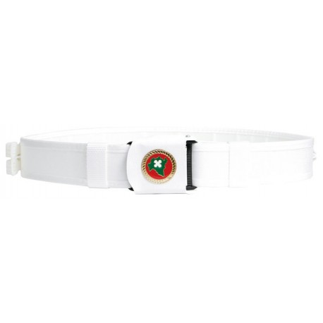 Reinforced Belt with Safety Buckle