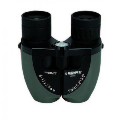 """Prismático compacto zoom 8-17x25 """"ZOOMY-25"""", color verde"""