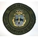 Parche brazo Equipos Operativos de Seguridad