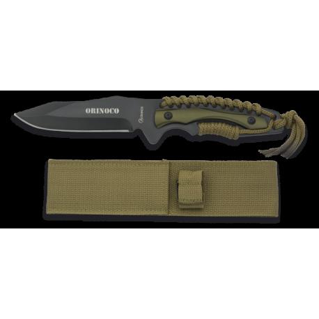 cuchillo albainox encordado. hoja:11.5cm
