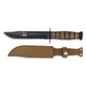 Cuchillo ALBAINOX TACTICO.C/funda. 18 cm