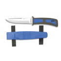 Cuchillo SUBMARINISMO.Azul. H:11.5