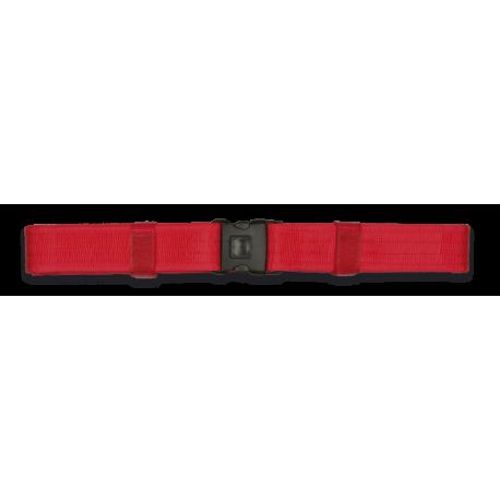 Cinturon ALBAINOX Rojo.Seguridad.5x138cm
