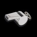 Silbato metalico CROMADO con anilla.4 cm