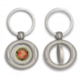 Llavero oval giratorio con chapa MARINES