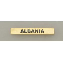 "Barra mision "" ALBANIA """