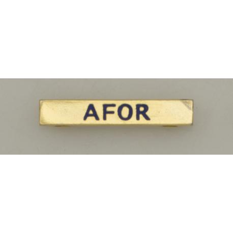 "Barra mision "" AFOR """