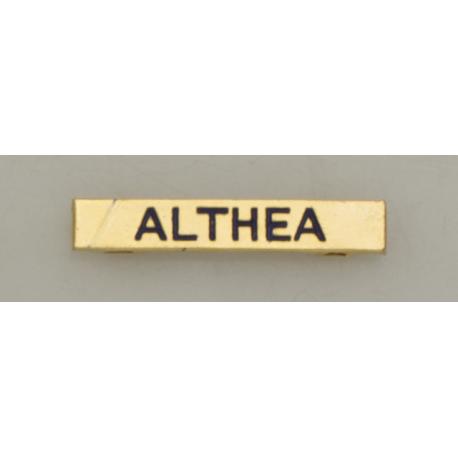 "Barra mision "" ALTHEA """
