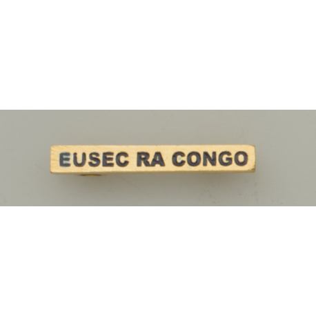 """Barra mision """" EUSEC RA CONGO """""""