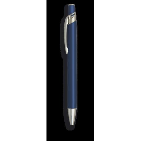 Boligrafo alumino color azul