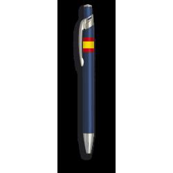 Boligrafo aluminio color azul. B. Esp