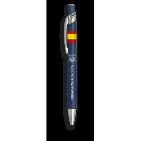 Boligrafo Aluminio Color Azul. Paracas