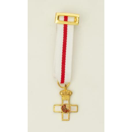 Medalla Miniatura CRUZ MERITO MILITAR