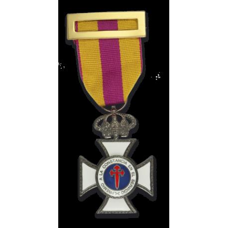 Medalla A LA CONSTANCIA EN EL SERVICIO.