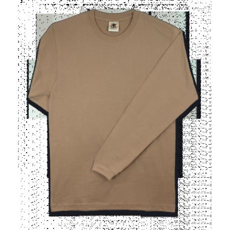 Camiseta ARIDA-PARDO. M/Larga. Talla: L