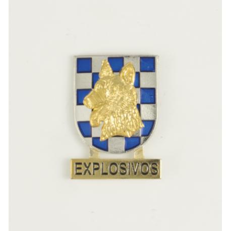 Distintivo Guia de Perros Explosivos