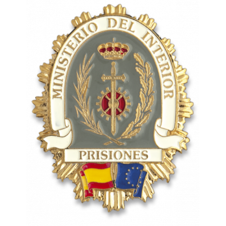 Chapa cartera PRISIONES