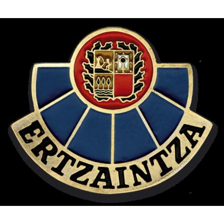 Chapa cartera ERTZAINTZA