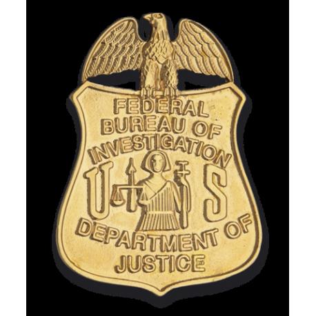 Chapa cartera FBI