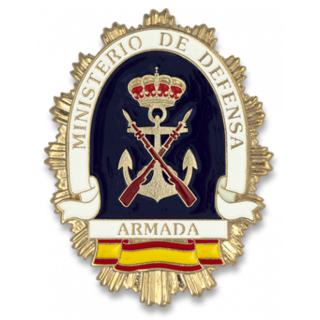Chapa cartera M. DEFENSA ARMADA