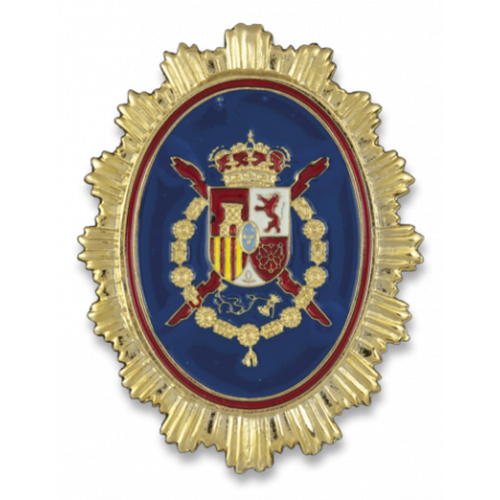 Chapa cartera GUARDIA REAL