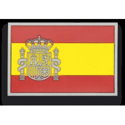 Parche goma ESPAÑA. (5.4 x 3.4 cm)