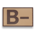 Parche goma ( B - ) Arido. (5.4x3.4cm)