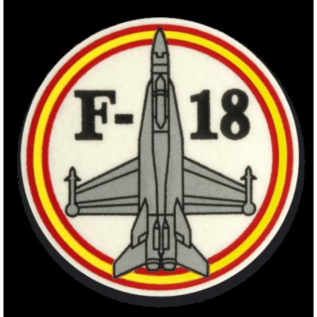 Parche F-18