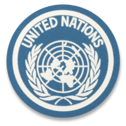 Parche UNITED NATIONS