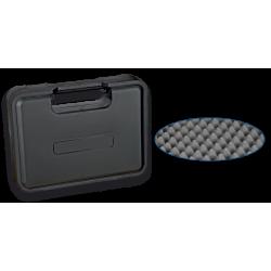 Maletin plastico arma 30.5x23x6.5 cm