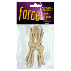 Set cordones TAN barbaric force. 190 cm