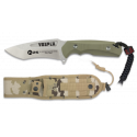 Cuchillo K25.coyote. hoja 13 cm. VOSPER