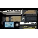 K25.Cuchillo THUNDER I. Camo Sand. H: 9