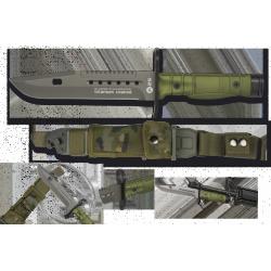 cuchillo K25 VERDE Bayoneta. 17.8