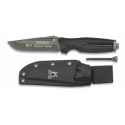 K25. Cuchillo ESSEX con pedernal. h: 12