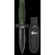 Cuchillo K25 Con Funda Verde. h:12.5