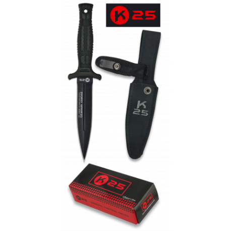 Cuchillo K25 BOTERO.Funda.Hoja:12.5