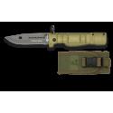 Navaja Bayoneta K25. Hoja: 9.7 cm